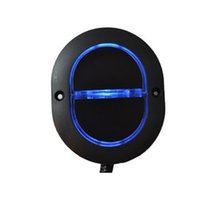 Wholesale OKING linear actuator recliner sofa mechanism handset electrical TV bed two buttons oval shape elliptical control switch with LED backlight