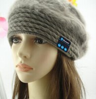 Prezzi Wool hat-coniglio berretti di lana bluetooth, donne beanies di modo, nuovo stile bello cappelli
