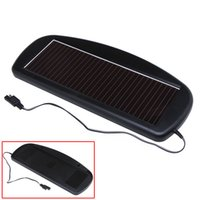 auto solar battery charger - Solar Power Panel Battery Car Charger for Car Auto Trucks RV Boats W V order lt no track