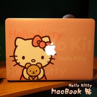 hello kitty laptop skin - Hello Kitty Creative personality Vinyl Local Decal Sticker Skin for Apple MacBook quot air11 quot quot Pro13 quot quot quot Retina13 quot quot