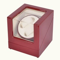 Wholesale high quality luxury self wind wooden watch winder for automatic watch