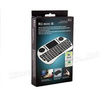 Wholesale hot sale Rii mini i8 Air Mouse Multi Media Remote Control Touchpad Handheld Keyboard for TV BOX PC Laptop Tablet Mini PC