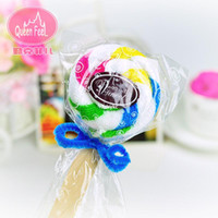 activities ideas - 10pcs wedding cake towel gift Promotions Valentine s Day gift ideas Wedding Favor activity gifts cake towel supplies color of loll