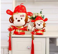 baby doll companies - Children baby gift Lucky Money The Monkeys Lucky Monkey Doll Plush Toys Chuck Little Doll Company Activities stuffed toy