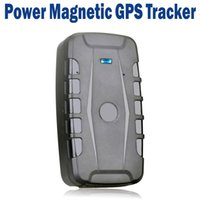 battery canada - 10000mAh Battery Magnetic GSM GPRS GPS Tracker For Car Vehicle Pet APP Real Time Tracking Waterproof Rastreador Localizador
