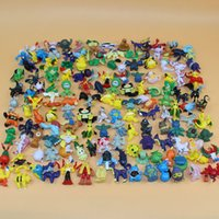 best finishes - 144 Poke Monster Toys Poke Monster Mini Figures Pikachu Action Figures Toy Best Gifts For Children cm