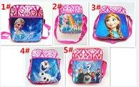 picnic backpack - 50pcs Frozen shoulder bag School Bags For Girls Kids Children Christmas Gift Birthday Gift School Backpacks for outdoor picnic bagD336