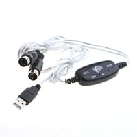 RCA usb midi - Brand New USB MIDI Cable Converter PC to Music Keyboard Adapter built in driver C929