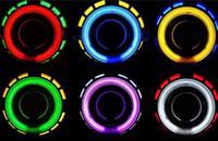 al por mayor azul xenón h1-Ángel Ojos WXCH-0004 de alta calidad para el coche de la luz azul profesional Luz Bi-Xenón de 3 pulgadas HQI Proyector HID lente de la luz H1
