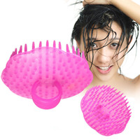 Wholesale Shampoo Washing Hair Massage Brush Massager Comb Scalp Shower Body