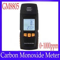 Wholesale carbon monoxide meter GM8805 carbon monoxide detectors MOQ