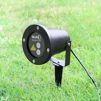 Wholesale new LED FloodLight Outdoor Waterproof IP65 Laser Firefly Stage Lights Landscape Red Green Projector Christmas Garden Sky Star Lawn Lamps