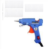 Wholesale Handy Professional High Temp Heater Hot Glue Gun with Glue Sticks Graft Repair Heat Ggun Pneumatic Tools W EU Plug