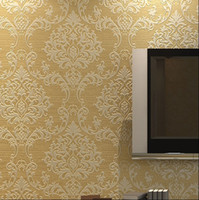 Wholesale Home improvement of European style non woven wallpaper ultra thick solid deep pressure textured cloud D wallpaper bedroom TV back