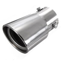 Wholesale Stainless Steel Drop Downstainless Car Vehicle Exhaust Tail Muffler Tip Pipe for Diesel Trim Lowest Price