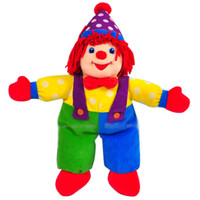 Wholesale Clown Stuffed Toy - new Gymboree The Clown Plush stuffed Dolls Toys with card Plush Figures Christmas gifts