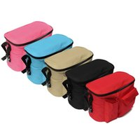 Wholesale 2015 PC Black Baby Cart Stroller D Waterproof Oxford Cloth Organizer Nappy Diaper Bag Pram By Bottle Holder order lt no track