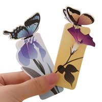 Wholesale 14pcs D Butterfly Bookmarks For Beautiful Birthday Gift cute bookmark Christmas Gift CY0001 order lt no tracking