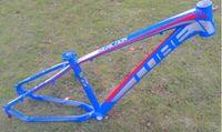 aluminum mountain bike frames - 2015 CUBE REACTION colorful aluminum alloy ultra light MTB mountain bike frame quot DIY frame Freeshipping