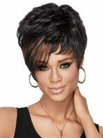 short hair wigs - Pelucas Short Women Wigs Synthetic Hair Wig Free hairnet