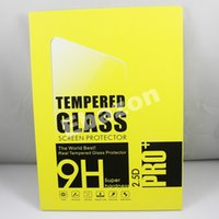 Wholesale 0 mm H D Tempered Glass Screen Protector For iPad Pro Inch Explosion proof Glass Protection Film With Retail Package