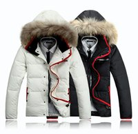 arctic winter clothing - Fall fashion Wool rich Arctic Parkas Men Down Jacket Winter Warm Clothes Overcoat five colors big promotion