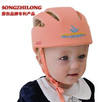 baby protective helmet - Baby Infant Safety Helmet Hats Cap Children Toddler Anti Shock Headguard Headgear Protective for Learning Walk Adjustable Christmas Gifts
