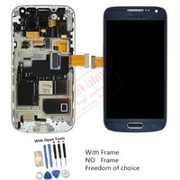 LCD Screen Panels mini digitizer - For Samsung Galaxy S4 Mini i9190 i9192 LCD Digitizer Touch Panel Screen With Frame Open Tools Tested