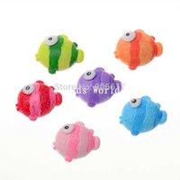 flounder fish - Random Mixed Flounder Fish Resin Scrapbook Embellishment DIY Phone Decoration x20mm W04464