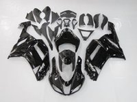 kawasaki zx6r fairings - Glossy Black Fairings For KAWASAKI NINJA ZX6R ZX R ZX R Injection Mold Fit Body Kits Motorcycle Fairing