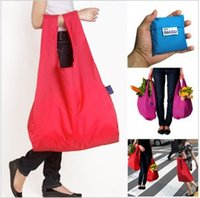 Wholesale Cheapest Baggu Reusable Shopping Bags Solid Polyester Eco Friendly Baggu Bags Causal Recycle Foldable Shipping Bag For Families
