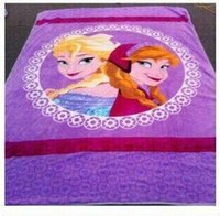 Wholesale 150 cm Hot Dairy queen aisha adventures in snow and ice Create snow and ice anime raschel blanket