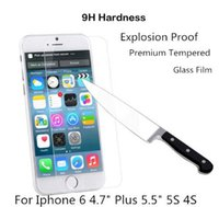 Cheap Tempered Glass Film Best iPhone6 4.7 Inch 5.5 Inch