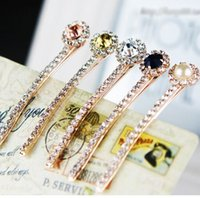 Wholesale 5pcs summer style fashion wedding accessories jewelry hair pin imitated pearl barrette hairpins clips for hair
