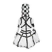 Wholesale Madness Returns Alice Mad Hatter Dress Cosplay Costume