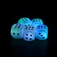 Wholesale LED Lighting Energy Saving Lamp Nightlight Creative Colorful Dice Creative Toys Party Decoration