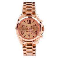 african calendar - 2015 Hot New Calendar Watches Rose Gold Stainless steel Watch Waterproof Quartz Wristwatches Luxury Watches Gold Men Ladies Classic Watch