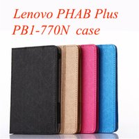 Wholesale High Quality Case for Lenovo PHAB Plus PB1 N Stand Case Cover for Lenovo PHAB Plus quot Tablet Case
