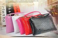 2016 porte-sac New Mode Femmes Porte-monnaie Mini Noir Sac à main Lady 5 Couleur d'embrayage en cuir pli petite poche pour iPhone 6 Plus 5s 5C 4S
