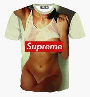 Cheap FG1509 2015 Newest summer men women 3d t shirt sexy naked printed women's casual brand t-shirt tops clothes camisetas hombre tee shirts