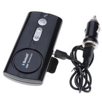 Wholesale Bluetooth2 Multipoint Speakerphone Handsfree Car Kit with Sun Visor Clip Black
