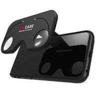 apple gamepad controller - VR BOX Professional Google andriod Cardboard Original Virtual Reality Head mounted D Glasses Case Phone Bluetooth Controller Gamepad