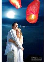 Sky Latern vol Heart-Shaped Lantern Soaring Through The Sky 400pcs / lot