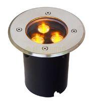 Wholesale 3W LED underground light lamps buried floor lamp Waterproof IP67 outdoor stair lighting V V V V fedex dhl free