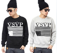 Wholesale brand new vsvp asap rocky men s casual Pullover sweater hiphop rock Skateboards Long sleeve sweatshirts Neck tops