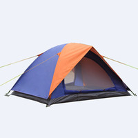 Wholesale Outdoor Hiking Tent Person cm Double Tents carpas camping Three season Camping Equipment mm Waterproof Index