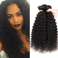 Wholesale 3Pcs Mongolian Brazilian A Kinky Curly Hair Weave Bundles Mongolian Kinky Curly Virgin Hair Extensions Brazilian Kinky Curly Hair Weft