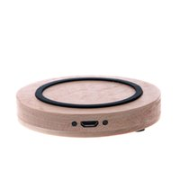 bank wooden - CL T300 C Wireless charger Original QI Wireless Charger Charging Pad for Samsung Galaxy s6 edge Wooden Anti Slip Wireless