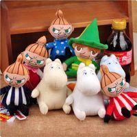 Wholesale Kawaii Pokemon Plush Toys Moomin Family DAKARA Plush Doll Stuffed Animals Soft Toys For Children Baby Kids Toys Movies TV