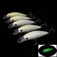 big fish lures - 10pcs Fishing Lure Hooks cm g big long fish D Minnow Luminous Lures Hard Bait Hook Artificial Fishing Pesca Tackle BL e shop